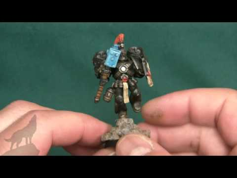 Pre Heresy army build ~ Luna Wolves ~ Part 18 ~ Assault marine ~ Colour scheme
