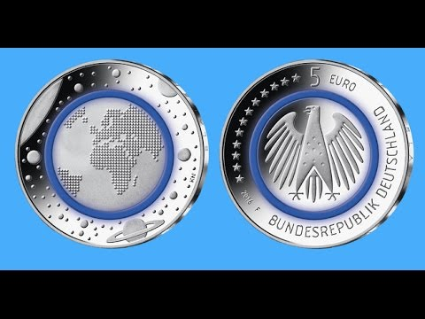 Neue 5 Euro Münze