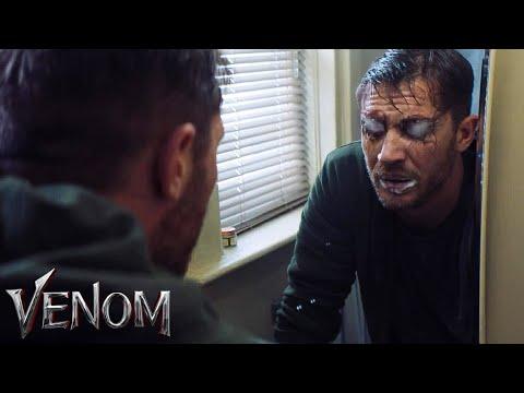 Venom - Eddie Brock gets the symbiote scene Venom 2018 HD
