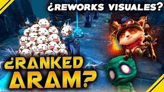 RIOT habla - REWORK visuales y ¿RANKED ARAM? | Noticias League Of Legends LOL