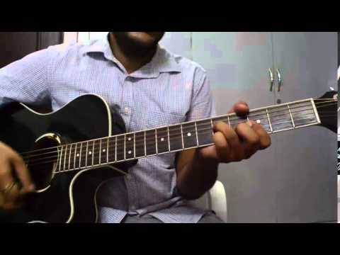 sapna jahan brothers song guitar cover and tutorial - YouTube