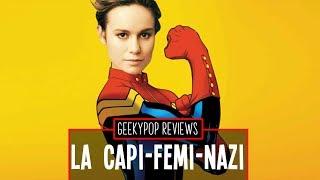 Brie Larson es odiada - GeekyPop7