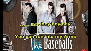 THE BASEBALLS - UMBRELLA - ( VIDEO KARAOKE )