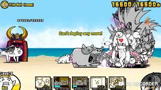 Battle cats crazed fish