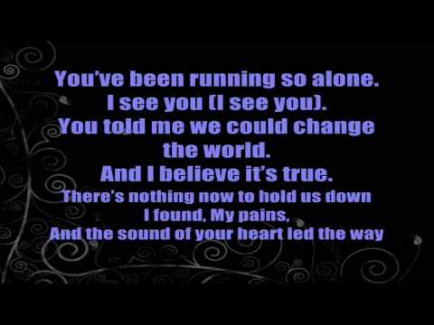 Don't Let Me Down - Leona Lewis [LYRICS] [Karaoke]
