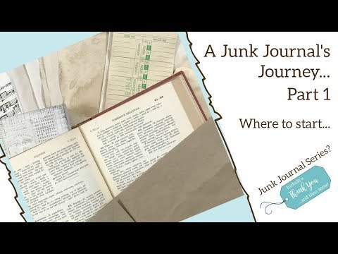 Junk Journal Series Part 1: Paper Types and Choices that are Available!