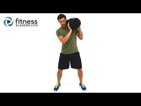 26 Minute Sandbag Workout Video Total Body Sandbag Training for Fat Burning, Strength & Endurance
