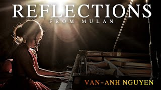 Reflections - Mulan - piano solo cover + SHEET MUSIC by Van-Anh Nguyen