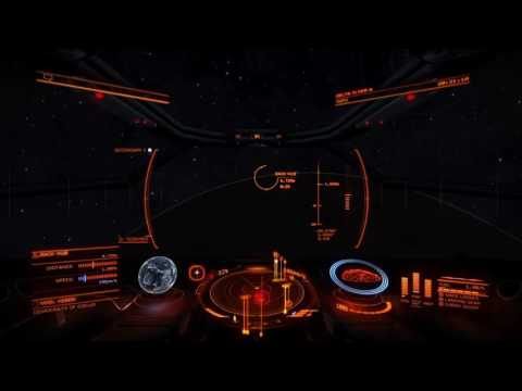 Elite Dangerous - Entering System and Landing On A Planet! - PS4