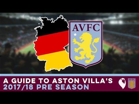 A Guide to Aston Villa's 2017/18 Pre Season