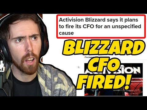 Asmongold Reacts to CFO of Blizzard Fired!