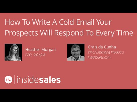 How to Write A Cold Email Your Prospects Will Respond to Every Time