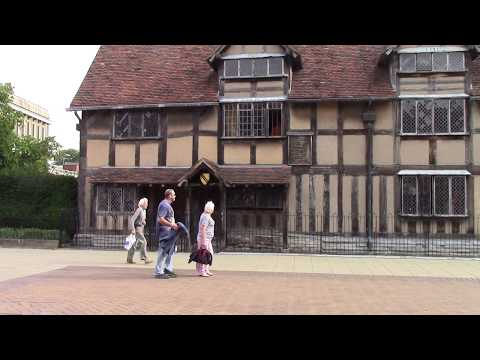 HOME OF LATE FAMOUS POET- WILLIAM SHAKESPEARE
