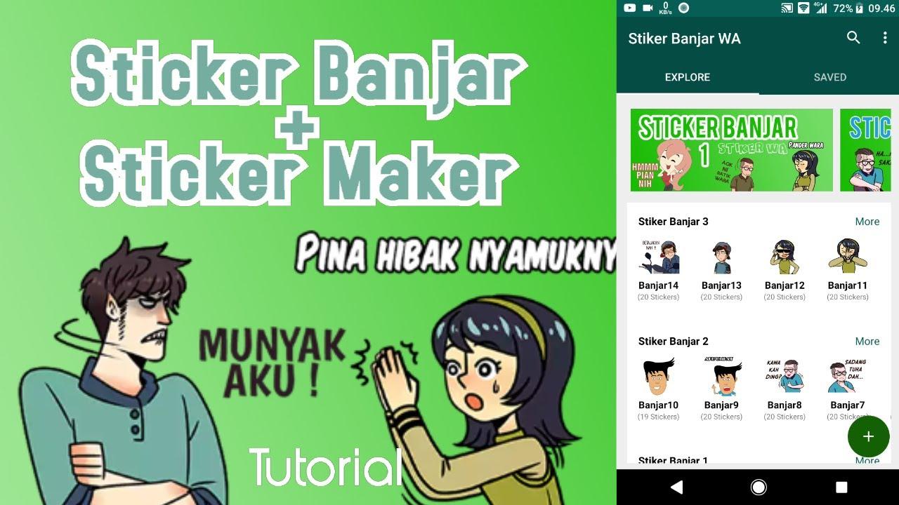 Tutorial Stiker Banjar Wa Sticker Maker