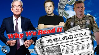 How Reading The WĄLL STREET JOURNAL Builds Wealth!
