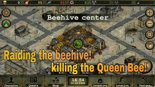 Day R Survival[ Raiding the beehive ]Killing the queen bee