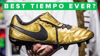 GOLD TOTTI BOOTS