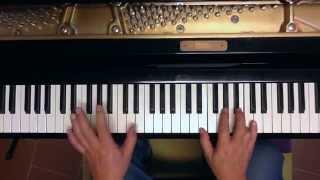Tutorial piano y voz Amanecí entre tus brazos (Jose Alfredo Jimenez)