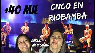 FUIMOS AL CONCIERTO DE CNCO EN RIOBAMBA (Le robaron el celular a Fer) - Vlog / Fran&Fer