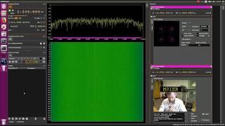 DATV Express Pluto SDR to Sdrangel RTL SDR Dongle (1.8 Msym/s)