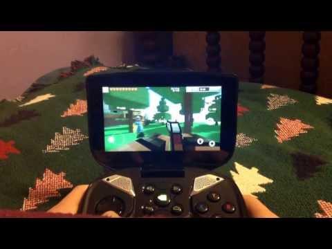 Nvidia Shield - Pixel Gun 3D Gameplay [Button Mapper]