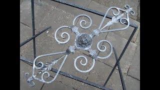 Как сделать узоры для ворот, калиток и решеток