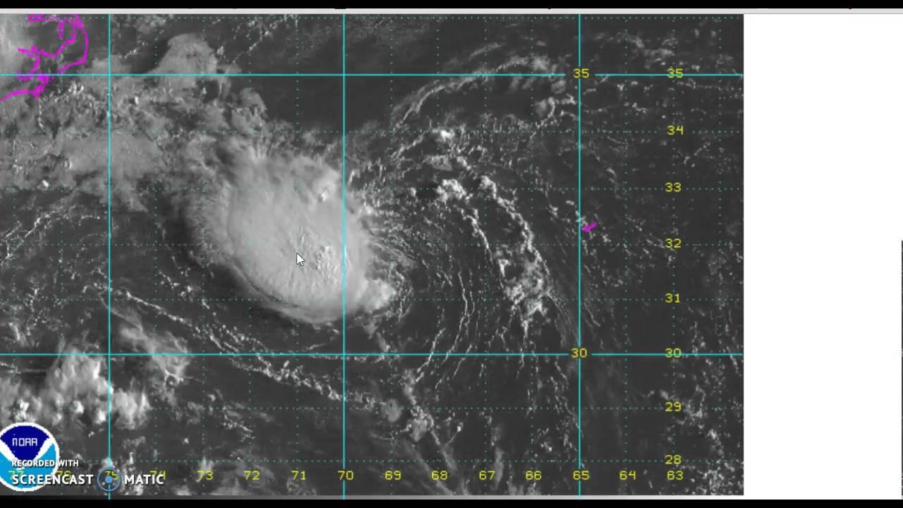 Tropical Depression 8 Forms Off North Carolina 08282016 ...