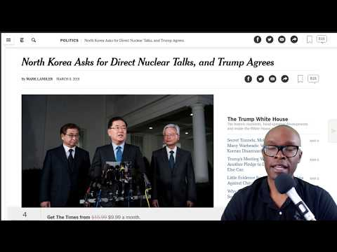 "North Korea Agrees To Talk With Trump Due To ""High Pressure"" Tactics Employed by Trump (REACTION)"