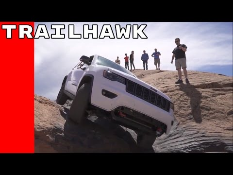 2017 Jeep Grand Cherokee Trailhawk Extreme Off Roading Youtube