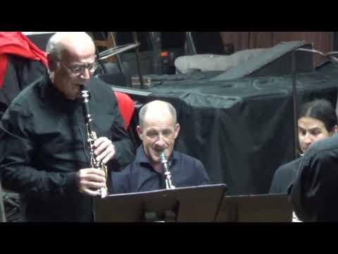 Sonata for clarinet and piano - Allegro tristamente - Francis Poulenc - Michel Arrignon Solist