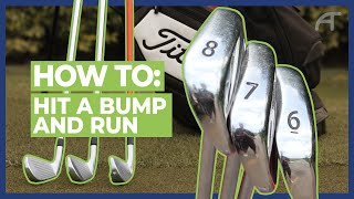 How To Hit A Bump and Run   Get Into Golf