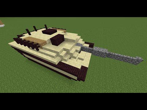 видео: как построить танк в minecraft