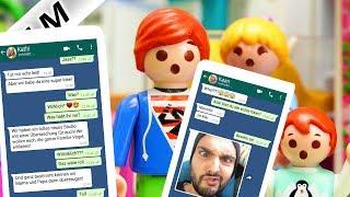 Playmobil Film Deutsch FAMILIE VOGEL SCHREIBT MIT KAAN, NINA, KATHI BEI WHATSAPP! EINLADUNG IN WOLKE