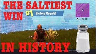 THE SALTIEST WIN IN HISTORY!!! | FORTNITE BR thumbnail