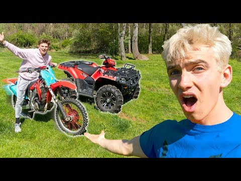 I CHALLENGED MY BROTHER!! (DIRTBIKE RACE)