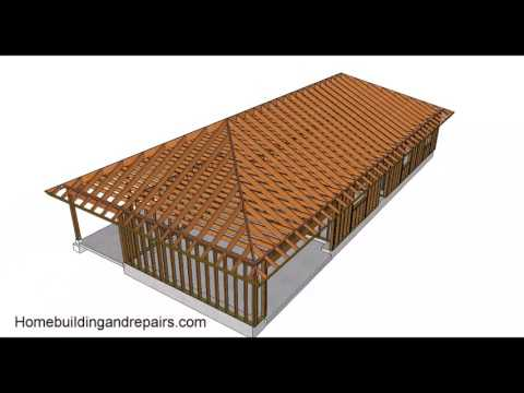 Hip Roof Design And Building Basics – Conventional Framing