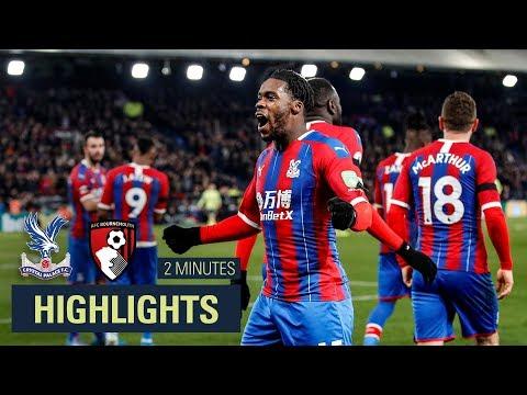 MATCH HIGHLIGHTS | Crystal Palace 1-0 Bournemouth