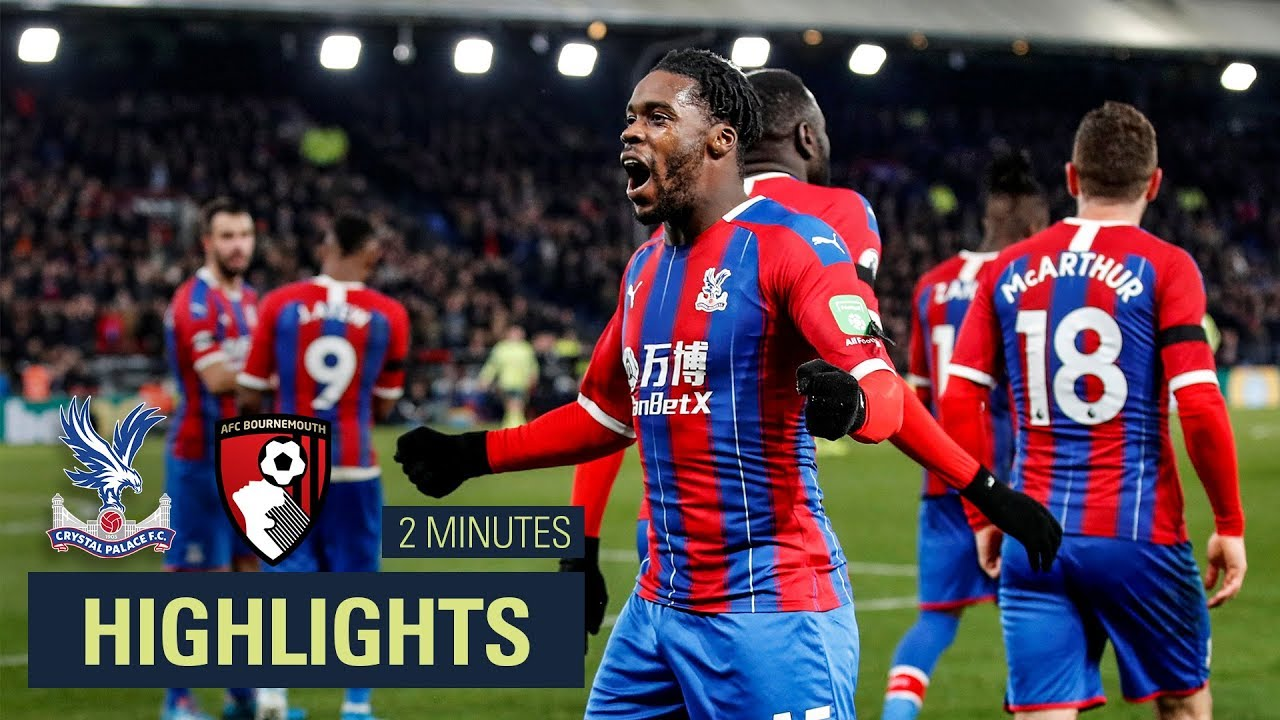 MATCH HIGHLIGHTS | Crystal Palace 1-0 Bournemouth