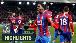 MATCH HIGHLIGHTS  Crystal Palace 1-0 Bournemouth