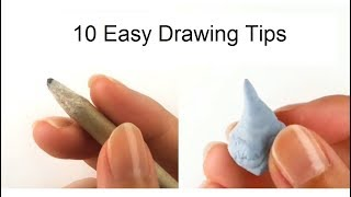 10 EASY Drawing Hacks for Beginners - Get Better at Drawing Right Now!