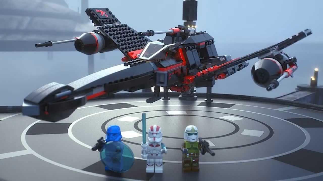 Lego Star Wars Jek-14's Stealth Starfighter 75018 - YouTube