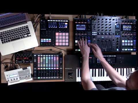 Icicle live using TRAKTOR, MASCHINE, and KOMPLETE KONTROL   Native Instruments