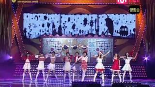 071214 SNSD- Honey + Ooh La La ! + Girls