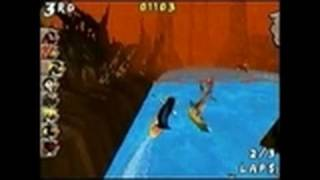 Surf's Up Nintendo DS Gameplay - Trickin out