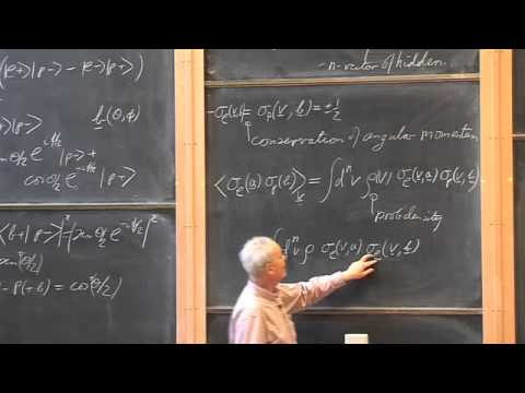 017 Einstein-Podolski-Rosen Experiment and Bell's Inequality