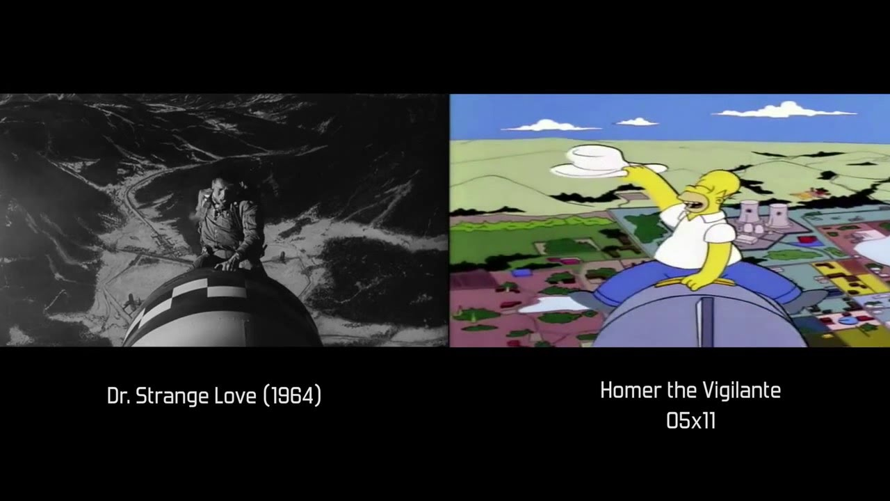 The Simpsons movie references - YouTube   1280 x 720 jpeg 82kB