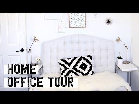 My Home Office Tour | Talking Guided Walkthrough | Miss Louie