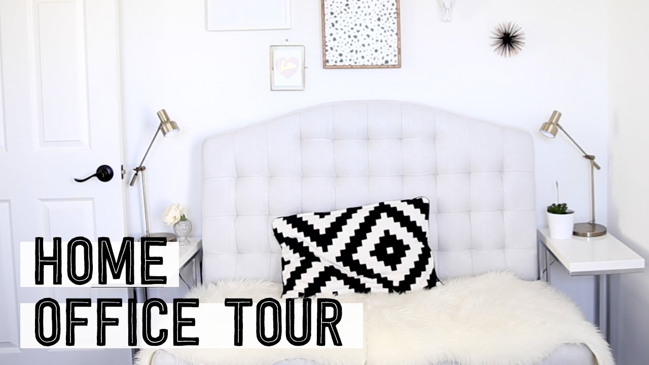 home to office. My Home Office Tour Talking Guided Walkthrough Miss Louie To
