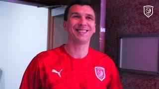 اليوم الأول للنجم الكرواتي ماريو ماندزوكيتش Mario Mandžukić مع الدحيل 🤩❤️