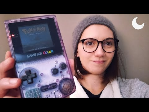 ASMR - Retro Gaming - Pokemon Silver On Game Boy Color